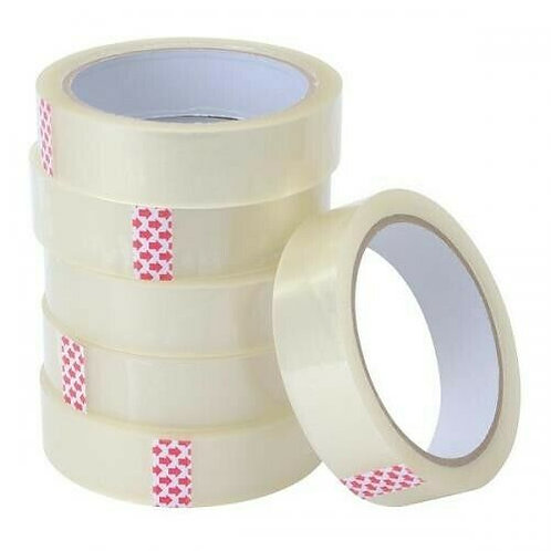 Clear Business Office Packing Shipping Tape 22mm x 35m
