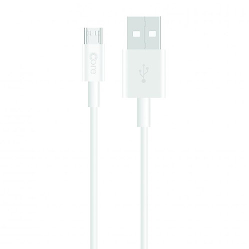 Core Micro USB  Data Charge and Sync Cable Bulk Pack