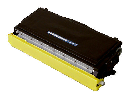 BROTHER TN 460 TONER CTG, BLACK, 6K HIGH YIELD