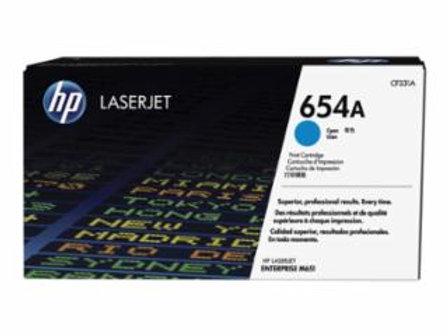 HP 654A (CF 331A)- Cyan - original - LaserJet - toner cartridge