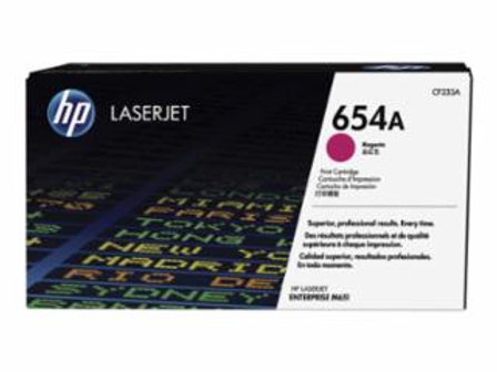 HP 654A (CF 333A) - Magenta - original - LaserJet - toner cartridge