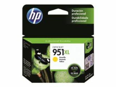 HP 951XL - High Yield - yellow - original - ink cartridge