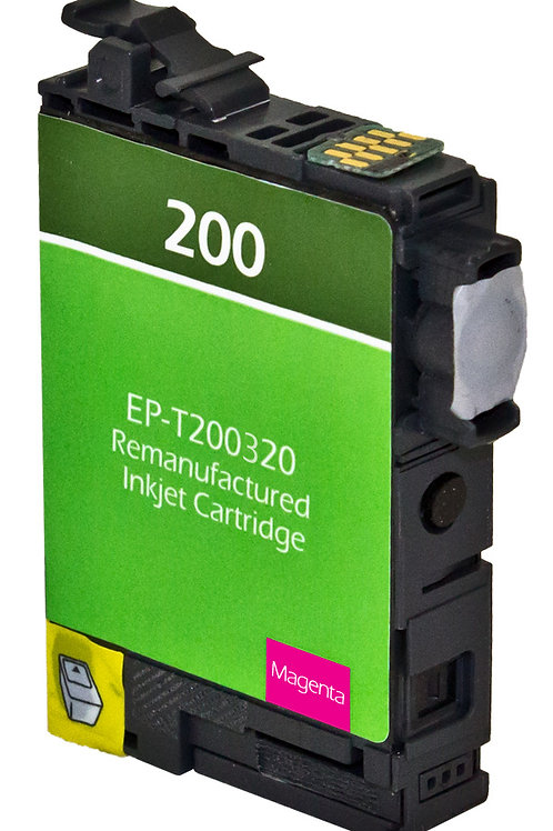 EPSON 200XL (T200320XL) INKJET CTG, MAGENTA, 7.5ML HIGH CAPACITY REMAN
