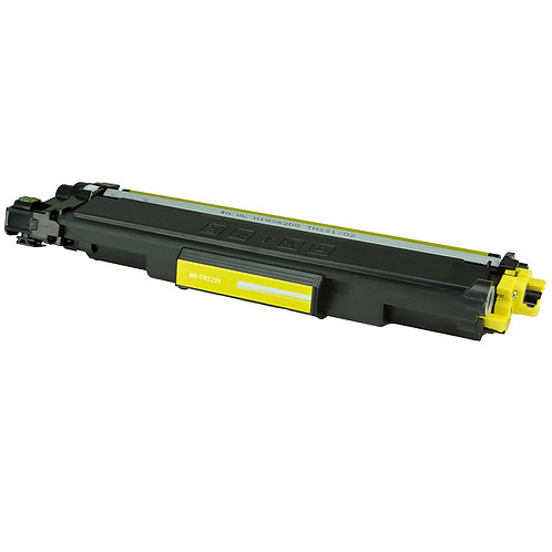 COMPATIBLE BROTHER TN223 (TN223Y) TONER CTG, YELLOW, 1.3K YIELD