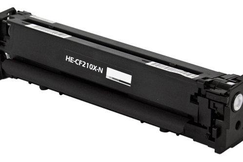 HP 131X (CF 210X) TONER CTG, BLACK, 2.4K HIGH YIELD