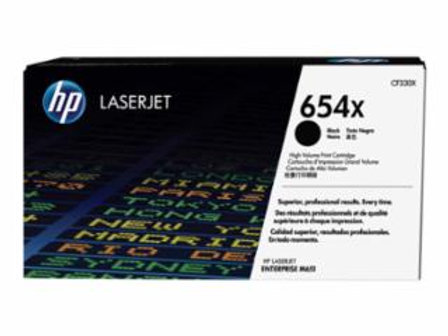 HP 654X (CF 330X) - High Yield - black - original - LaserJet - toner cartridge