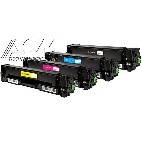 HP 201X (CF 400X, CF 401X, CF 402X, CF 403X) TONER KIT, BLACK / COLOR,