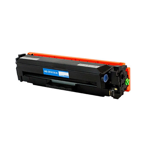 HP 410X (CF 411X) TONER CTG, CYAN, 5K HIGH YIELD