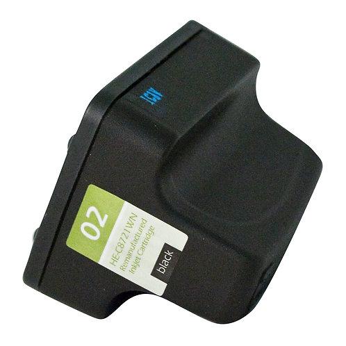 HP 02 (C8721WN) INKJET CTG, BLACK, 660 YIELD