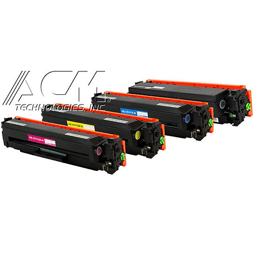 HP410X (CF 410X, CF 411X, CF 412X, CF 413X) TONER KIT, BLACK / COLOR,