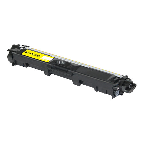 BROTHER TN 225 (TN225Y) TONER CTG, YELLOW, 2.2K HIGH YIELD