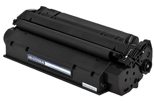 HP 15X (C7115X) TONER CTG, BLACK, 3.5K HIGH YIELD