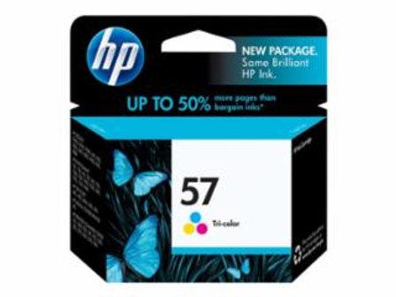 HP 57 - 17 ml - color (cyan, magenta, yellow) - original - ink cartridge