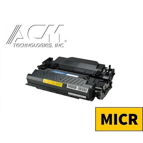 HP 87X (CF 287X) MICR TONER CTG, BLACK, 18K HIGH YIELD