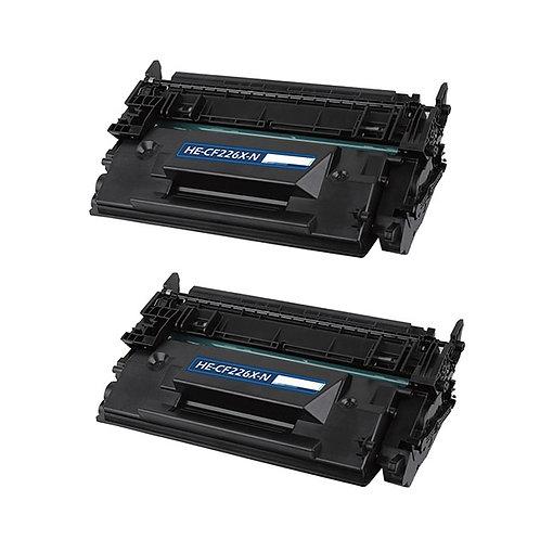 HP 26X (CF 226X) TONER CTG, BLACK, 9K HIGH YIELD, BLACK *2 PCS