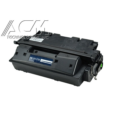 HP 27X (C4127X) TONER CTG, BLACK, 10K HIGH YIELD
