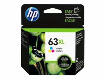 HP 63XL - 8 ml - High Yield - dye-based tricolor