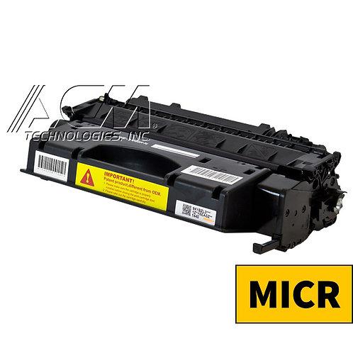 HP 08X (CF 280X) MICR TONER CTG, BLACK, 6.9K HIGH YIELD