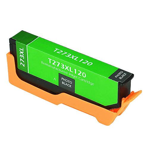 EPSON 273XL (T273XL120) INKJET CTG, PHOTO BLACK, 650 HIGH YIELD REMAN