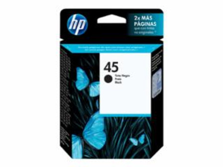 HP 45 - 42 ml - black - original - ink cartridge