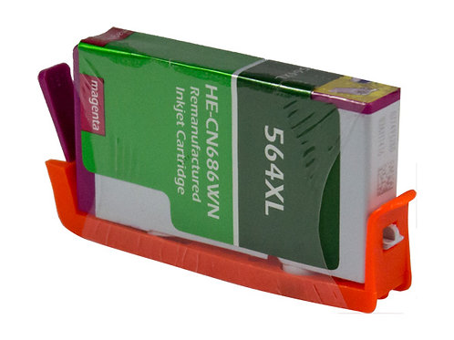 HP 564XL (CB324WN) INKJET CTG, MAGENTA, 750 HIGH YIELD, WITH SCC CHIP