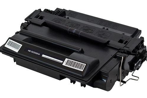 HP CE 255X / 55X Black Re-manufactured High Yield 12.5K