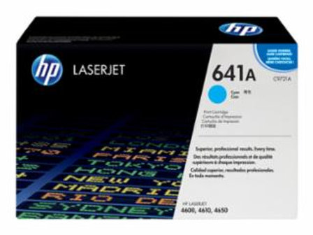 HP 641A (C9721A) - Cyan - original - LaserJet - toner cartridge