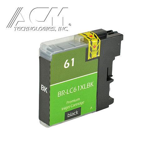 BROTHER LC61/ LC65 BK INKJET CTG, BLACK, 28ML XL