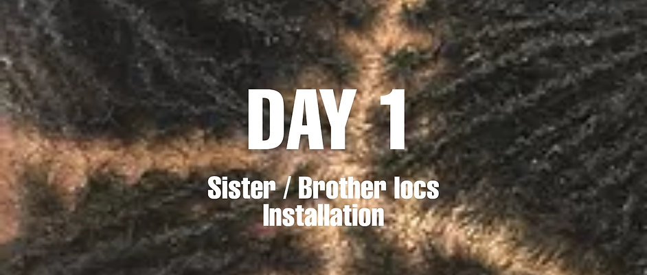 Day 1 of Sister / Brother loc installation