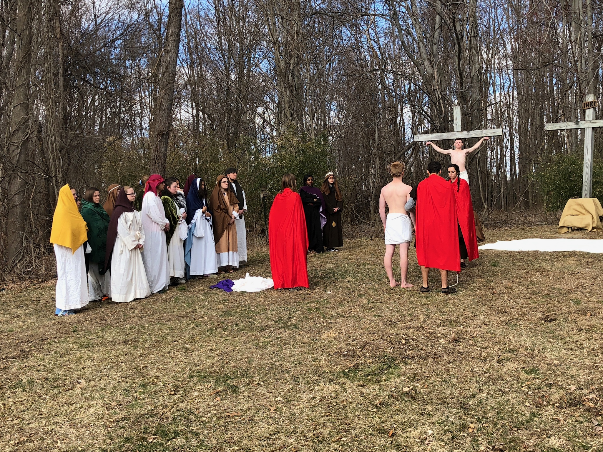 """Living Stations of the Cross"""
