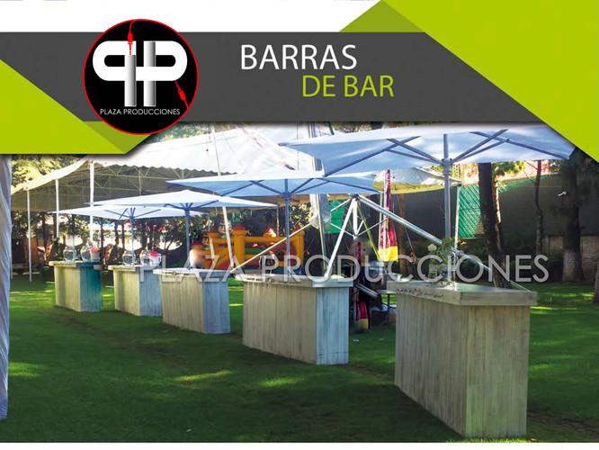 RENTA BARRA DE BEBIDAS