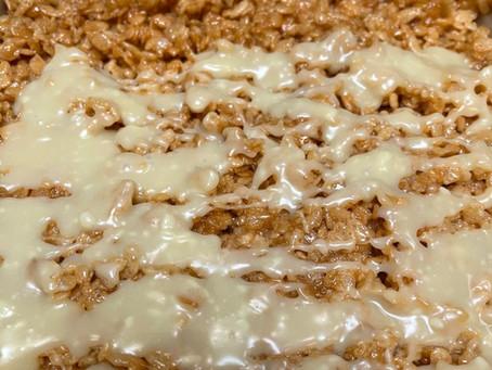 Butterscotch Rice Krispie Treats