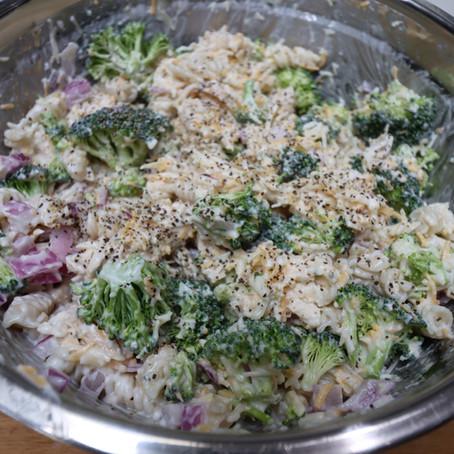 Chicken Salad with Broccoli & Pasta