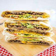 Cheeseburger Crunch Wrap