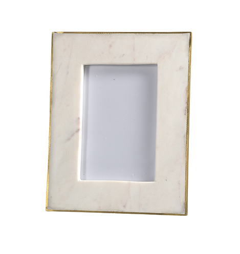 Brass and Marble Frame