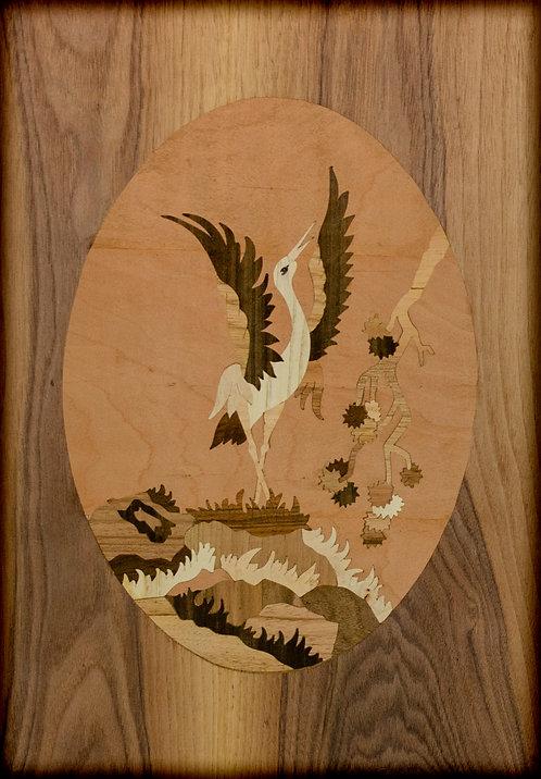 Dansande stork 13720