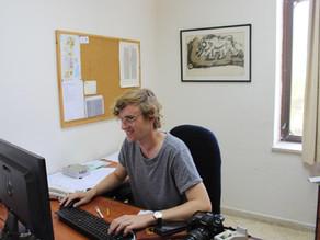 Freiwilliger an der Bethlehem Universität
