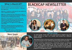 BlackCAP Newsletter 1 2016