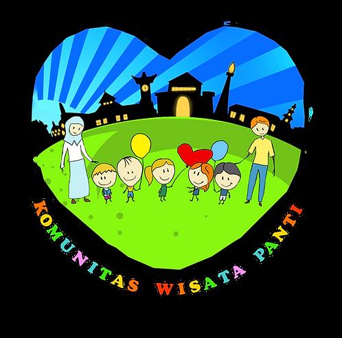 Stiker Komunitas Wisata Panti