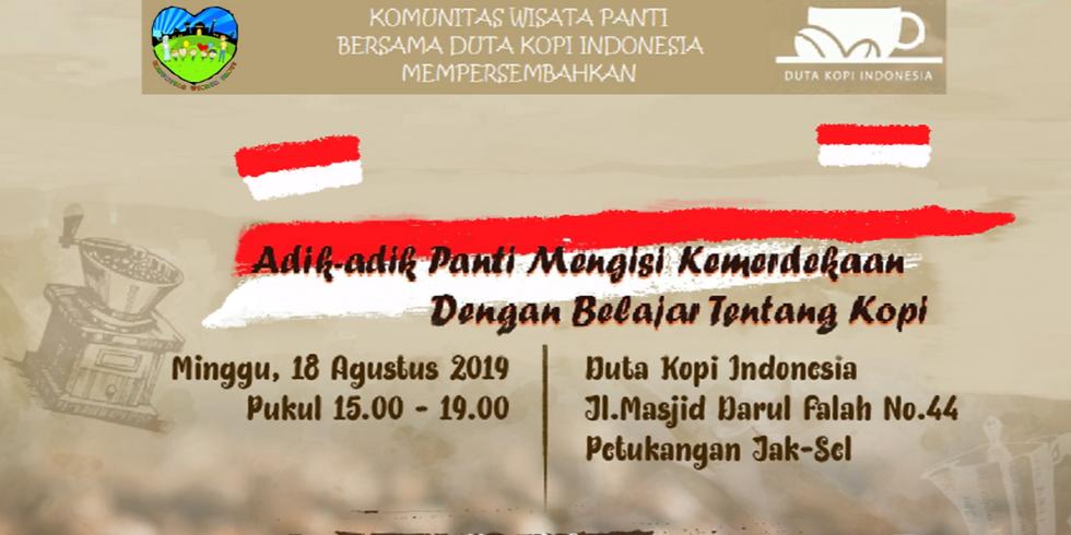 Wisata Panti Berkarya Bersama Duta Kopi Indonesia