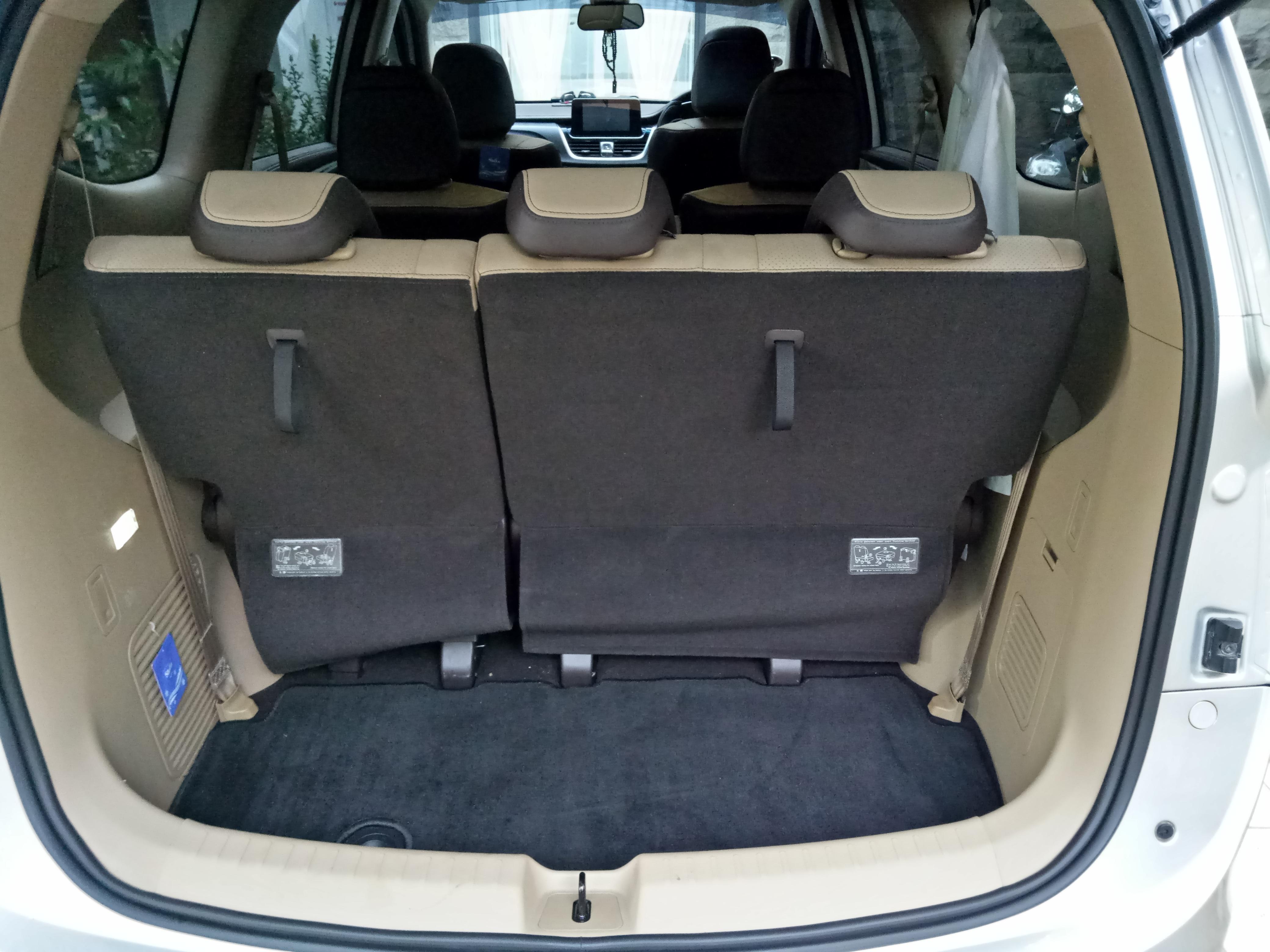Third Row 60:40 Seat Configuration