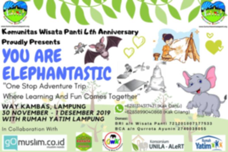 4th Anniversary Wisata Panti