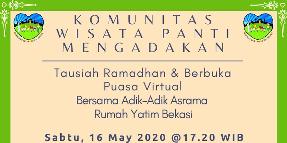 Tausiah & Buka Puasa Virtual Bersama Yatim