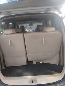 40-60 BACK SEAT CONFIGURATION