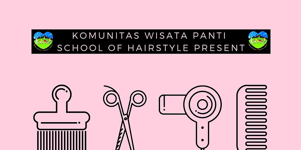 Belajar Memotong Rambut Bersama Komunitas Wisata Panti