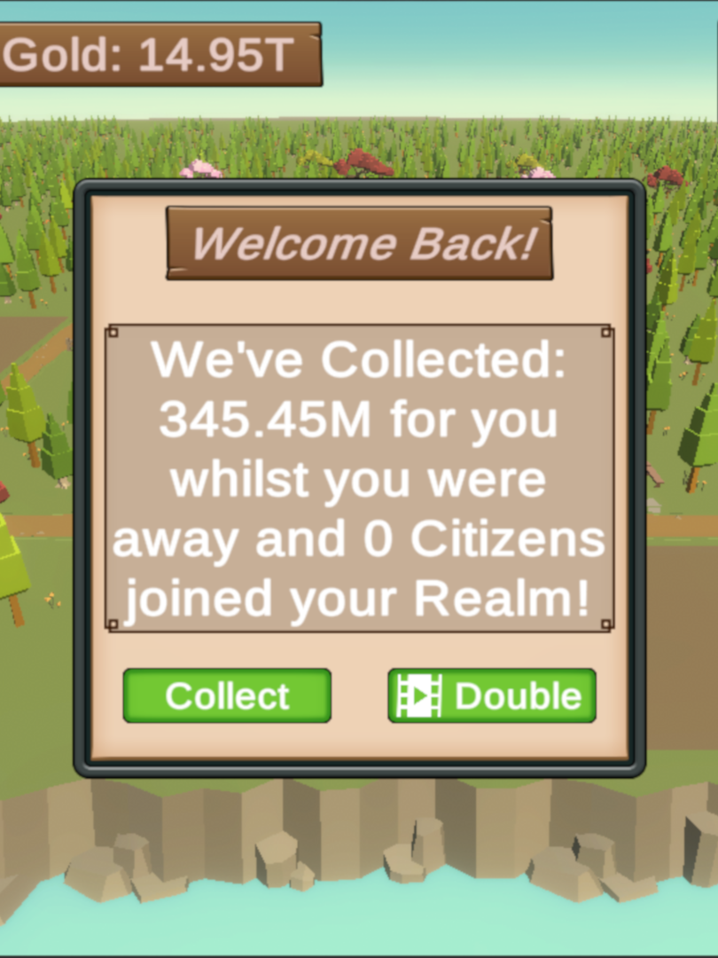 Idle Collection Panel