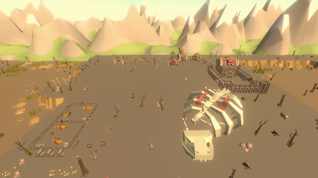 Idle Realm Builder Orc City