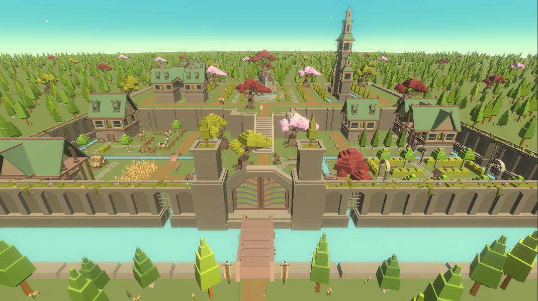 Idle Realm Builder Elven City
