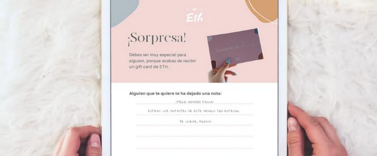 E-GIFT CARD ETH - Digital