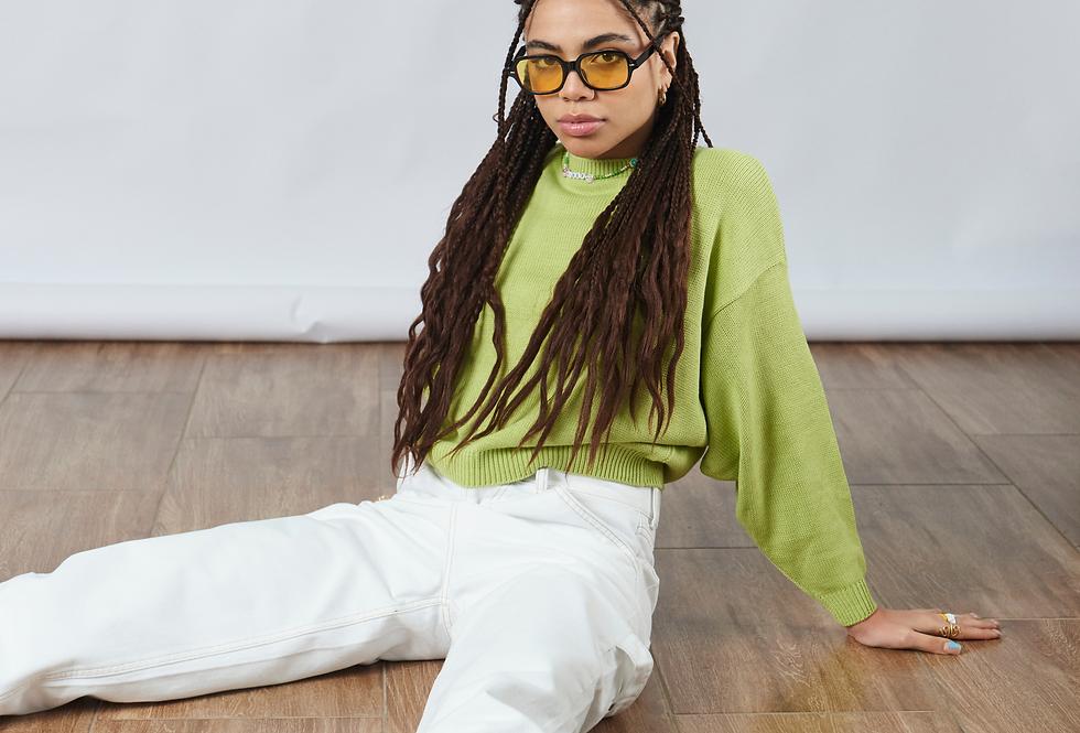 Sweater Brooklyn - Verde limón